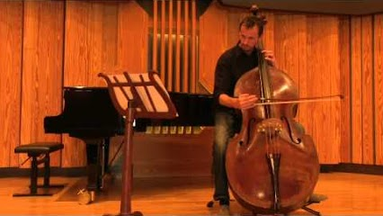Timothy Dunin, double bass