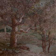 Painting of a tree by James Stewart