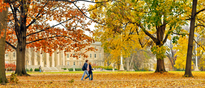 fall penn state campus