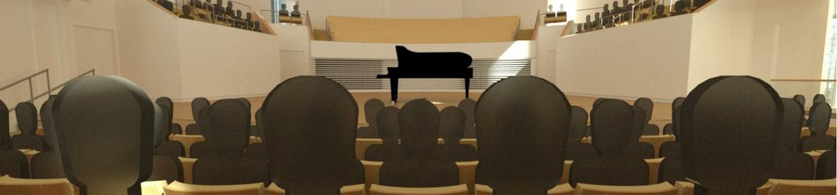 Recital Hall Rendering 1