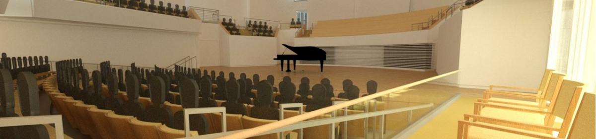 Recital Hall Rendering 4