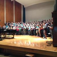 "Dr. Kiver conducts the ""Men of Song Festival,"" 2012"