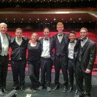 Symphonic Wind Ensemble percussion with Professor Dennis Glocke, Spring 2014