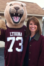 Kelly Detwiler and the Altoona Lion