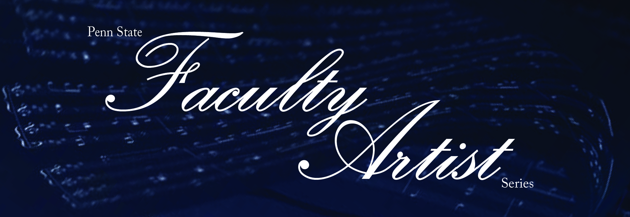 faculty artist series logo
