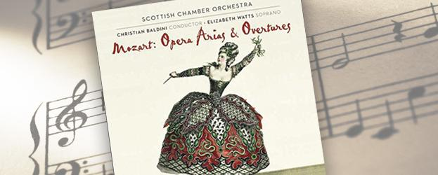 Scottish Chamber Orchestra CD jacket