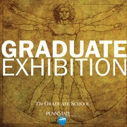 Graduate Student Exhibition poster