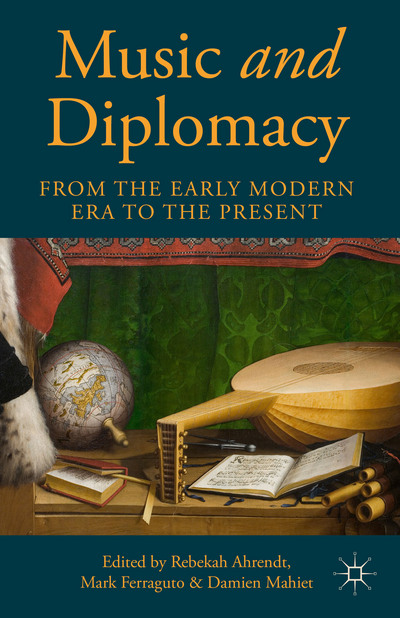 "book cover of ""Music and Diplomacy"""