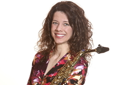 Carrie Koffman, saxophone