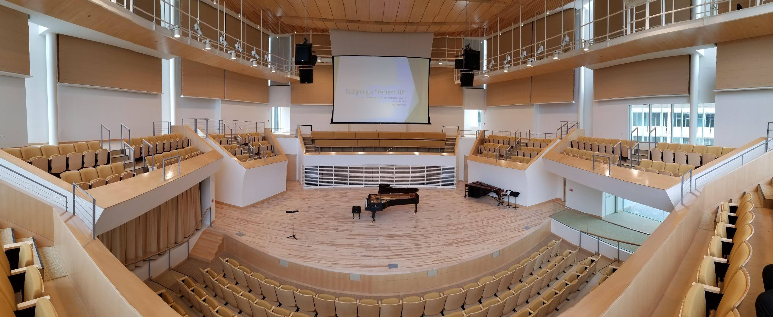 New Recital Hall
