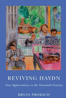 "book jacket of ""Reviving Haydn"""