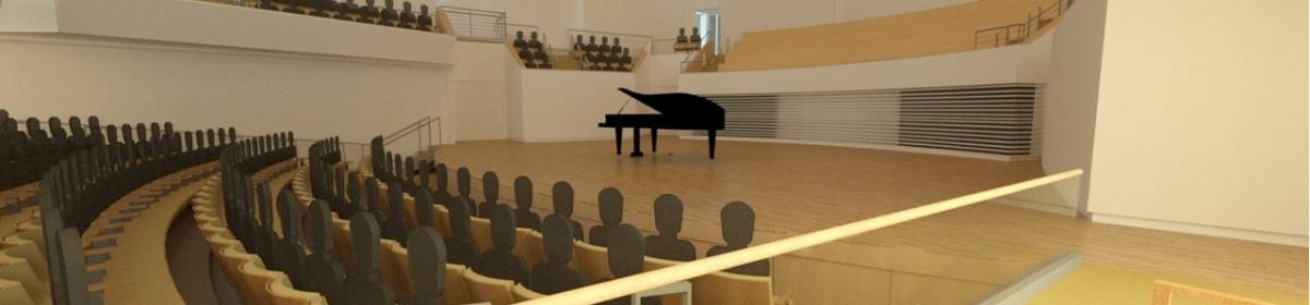 Recital Hall Rendering 3