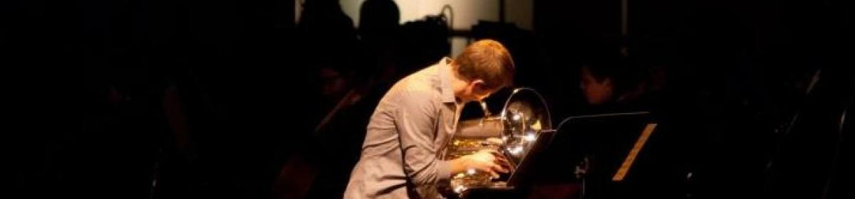 Luke Gall plays Euphonium in 2013 Mosaic