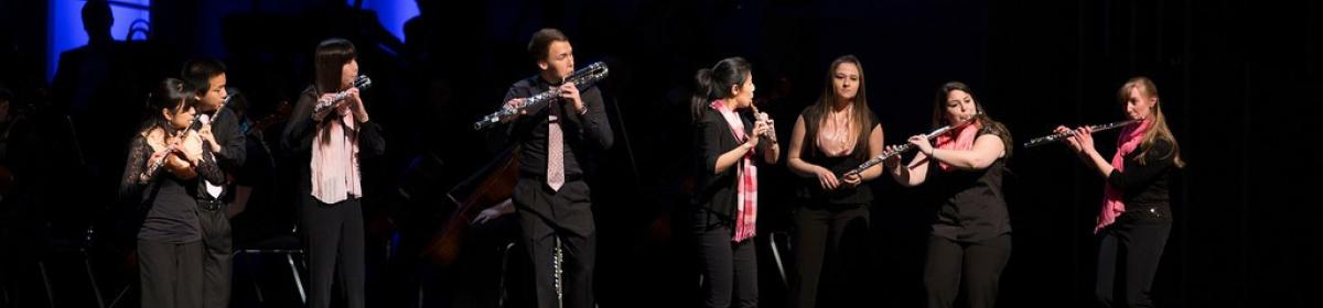 Flute Choir at Mosaic 2013