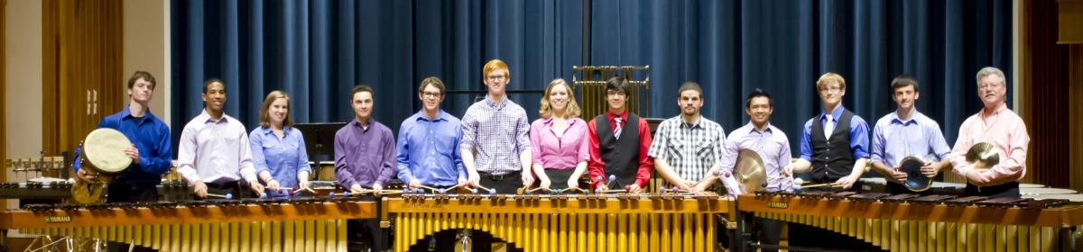 percussion studio 2012-2013
