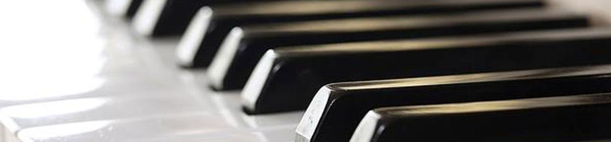 Garcia piano keys logo