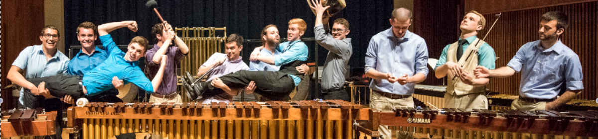 funny percussion pose 2015