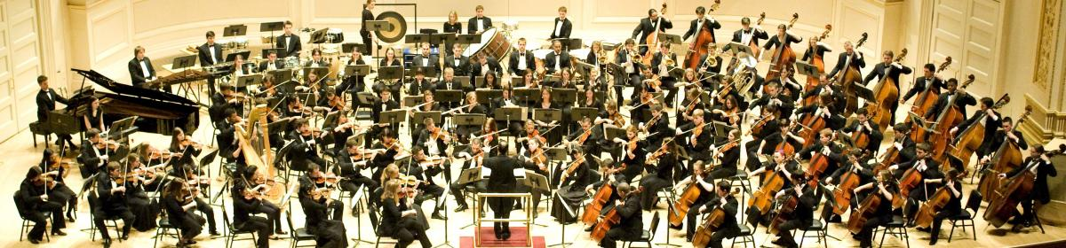 Philharmonic Orchestra at Carnegie Hall