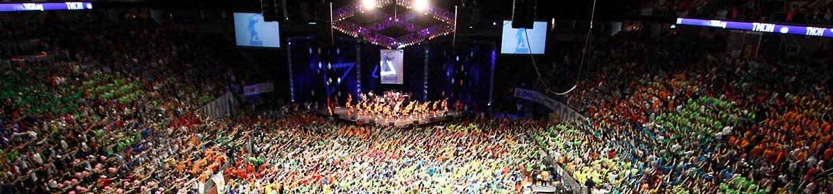 Penn State Dance Marathon at Bryce Jordan Center