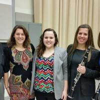David Shifrin with Penn State Clarinet students
