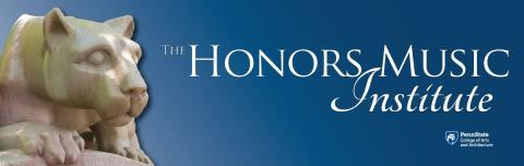 Honors Music Institute banner