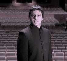 Christian Baldini in concert hall