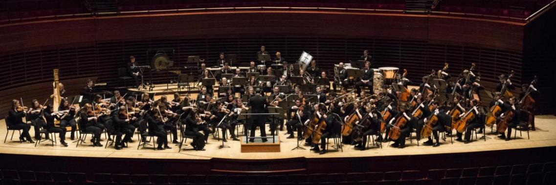 Philharmonic Orchestra performing at Kimmel Center