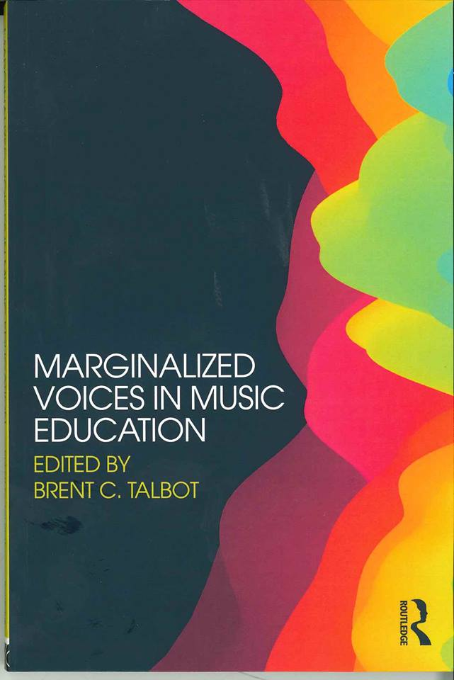 "cover of ""Marginalized Voices in Music Education"""